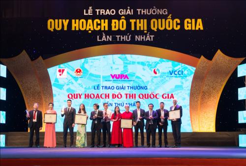 Khu đô thị Đông - Tây Hải Dương nhận giải Quy hoạch đô thị quốc gia
