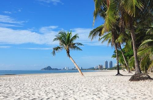 Vẻ đẹp yên bình tại Hua Hin, Thái Lan. Ảnh: Shutterstock.