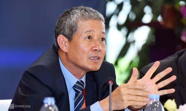 Thứ trưởng Thông tin & Truyền thông Nguyễn Thành Hưng. Ảnh: Giang Huy.