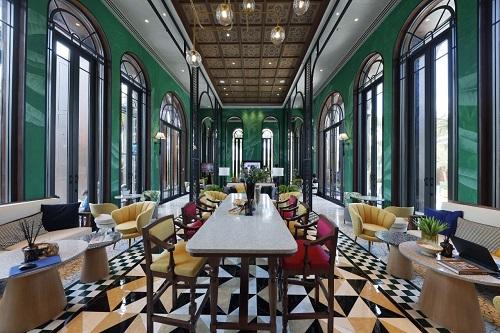 La Habana với lối thiết kế mang âm hưởng Tây Ban Nha