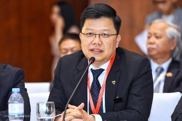 Ông Nguyễn Hưng - Tổng giám đốc TPBank. Ảnh:Giang Huy.