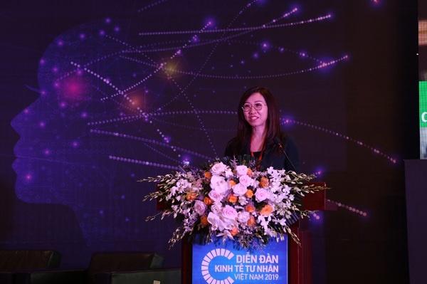 Bà Trần Thị Lệ, Tổng giám đốc Công ty Nutifood.