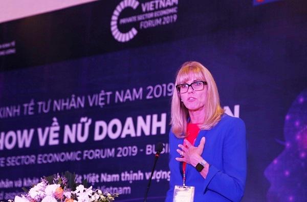 Bà Cindy Hook, Tổng Giám đốc của Deloitte châu Á Thái Bình Dương.