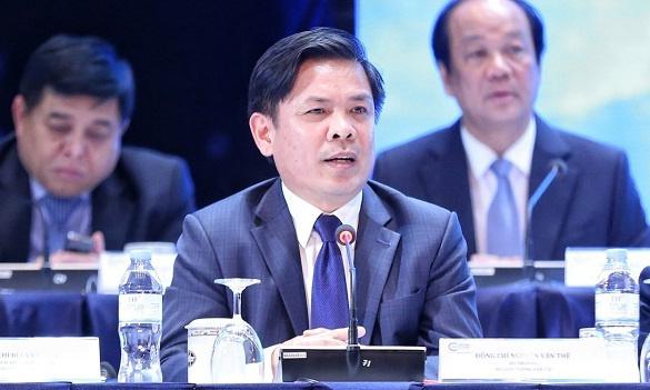 Bộ trưởng Giao thông Vận tải - Nguyễn Văn Thể. Ảnh: Xuân Bình