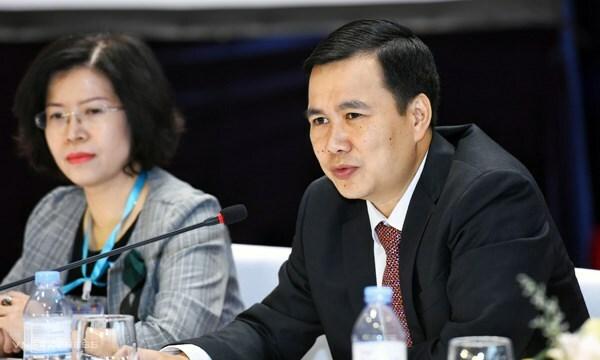 Thứ trưởng Khoa học Công nghệ Bùi Thế Duy. Ảnh: Giang Huy.