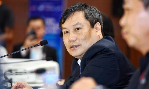 Ông Vũ Đại Thắng - Thứ trưởng Kế hoạch Đầu tư. Ảnh: Giang Huy.