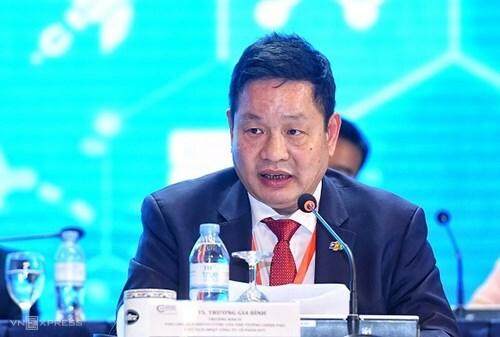 Ông Trương Gia BÌnh - Trưởng Ban Nghiên cứu phát triển Kinh tế tư nhân. Ảnh: Giang Huy.