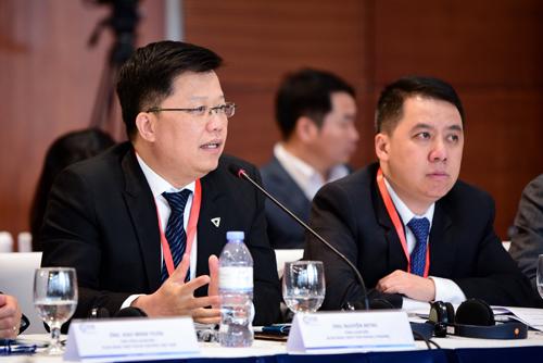 Ông Nguyễn Hưng - CEO TPBank phát biểu tại Diễn đàn Kinh tế Tư nhân Việt Nam 2019.