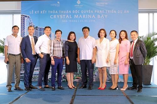 Crystal Bay ký kết độc quyền phát triển dự án Crystal Marina Bay với KW Phúc An và Hoàng Mai Media (xin bài edit) - 2