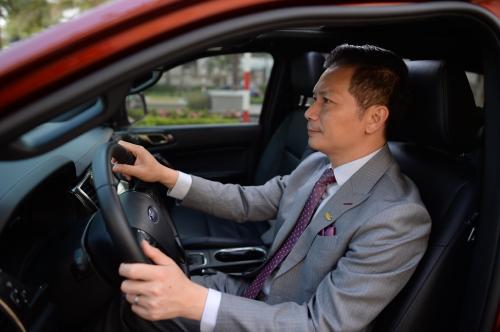 Xe là một trong những đam mê của doanh nhân này.