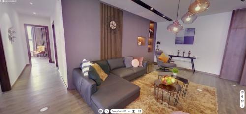 Tính năng xem nhà trực tuyến qua công nghệthực tế ảoVR trênCenHomes.