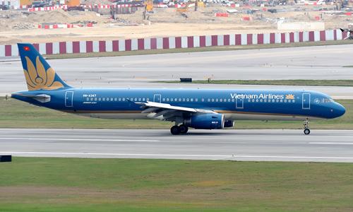 Vietnam Airlines đang khai thác 61 tàu bay thân hẹp.