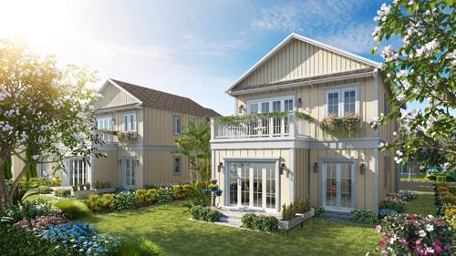 Dự án Novaworld Phan Thiết bao gồm đa dạng các sản phẩm như nhà phố, biệt thự nghỉ dưỡng, nhà phố thương mại (shophouse) với tầm nhìn hướng biển. Ảnh: Novaland