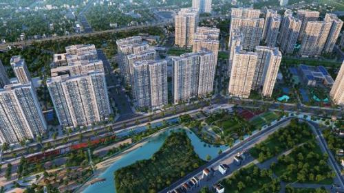 Vinhomes Smart City ứng dụng công nghệ hiện đại trên toàn khu.