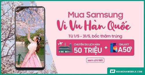 Cơ hội du lịch Hàn Quốc khi mua điện thoại tại Hoàng Hà Mobile.