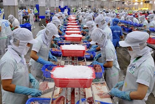 Thủy sản Việt giá còn cao khi xuất sang Nga.