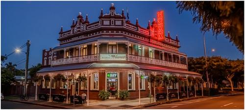 Khách sạn cổ Norman Hotel nằm ở khu đắc địa có giá 40 triệu đô la Úc
