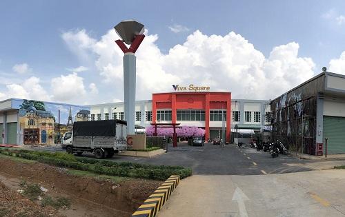 Trung tâm thương mại Viva Square hoàn tất các hạng mục thi công trước ngày khai trương.