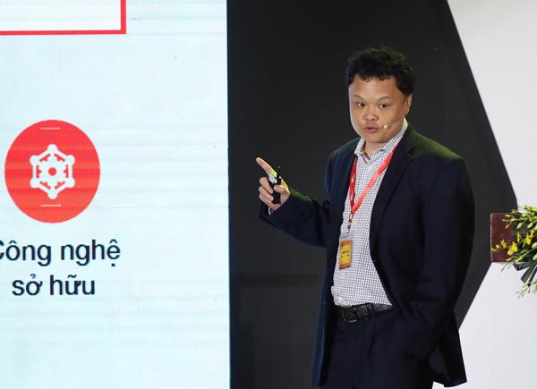 Tổng giám đốc VCCorp Nguyễn Thế Tân.