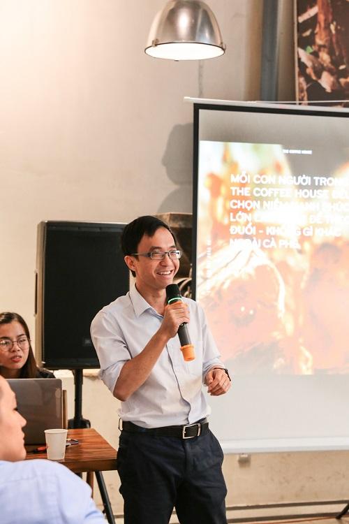Ông Nguyễn Hải Ninh - CEO The Coffee House.