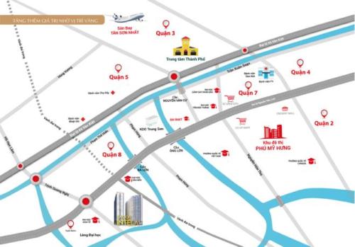 Dự án Saigon Intela nằm ở mặt tiền đại lộ Nguyễn Văn Linh có mức giá từ 1,3 tỷ đồng/căn hộ 2 phòng ngủ.