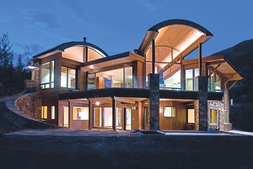 Ngôi nhà có giá 35 triệu USD trên đường Ridge, Aspen.