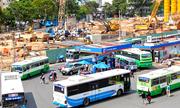 Xe buýt Sài Gòn ế vì xe ôm công nghệ