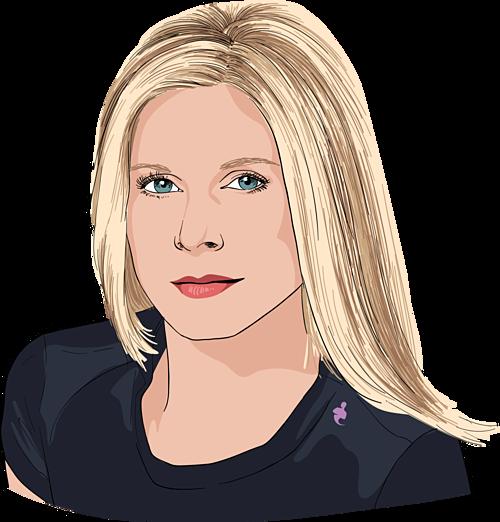 Marla Beck - Nhà sáng lập kiêm CEO Bluemercury. Ảnh đồ họa: CNBC