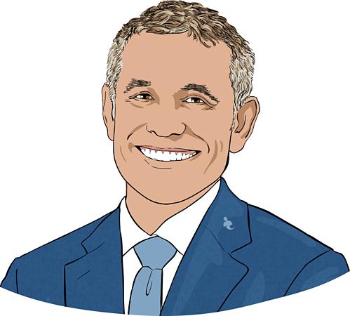 Peter Hernandez -Nhà sáng lập kiêm Chủ tịch Teles Properties. Ảnh đồ họa: CNBC