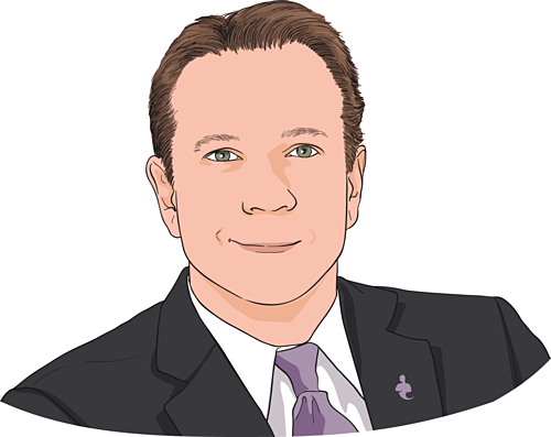 Tom Zgainer -Nhà sáng lập kiêm CEO America's Best 401K. Ảnh đồ họa: CNBC