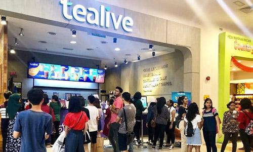 Một cửa hàng trà sữa Tealive tại Malaysia. Ảnh: MalaysiaToday