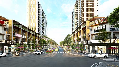 Dự án Phú Mỹ Gold City sở hữu vị trí đắc địa tại trung tâm Phú Mỹ