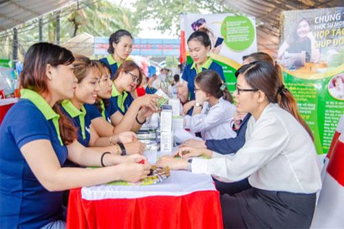 Các chị em được đào tạo bài bản về kỹ năng và kiến thức về kinh doanh trực tuyến với sự hỗ trợ của nền tảng công nghệ 4.0.