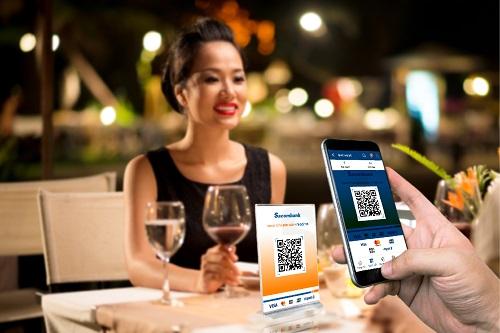 Thanh toán bằng mã QR qua Sacombank Pay. Chi tiếtliên hệ hotline 1900555588 - 02835266060 hoặctruy cập tại đây.
