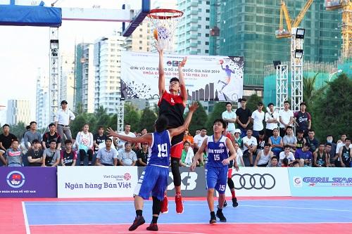 Những đội đầu tiên tham gia Giải vô địch bóng rổ 3x3 quốc gia 2019
