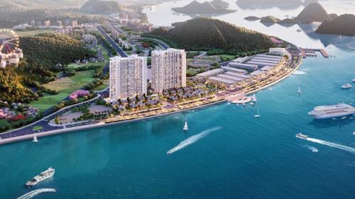 Vị trí trung tâm, tiện di chuyển và tầm view vịnh tuyệt đẹp là căn cứ đảm bảo cho công suất phòng của dự án