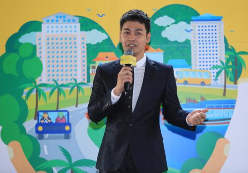 [Caption]MC Phan Anh, đại sứ chương trình năm 2019,
