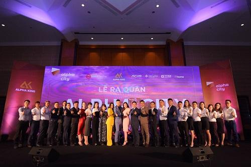Lễra quân dự án Alpha Hill - Tháp B diễn ra tại khách sạn Melia, Hà Nội