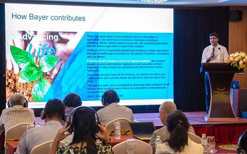 Ông Mahaveer Rathore, Giám đốc Toàn cầu về Giải pháp canh tác cho cây rau màu,Tập đoàn Bayer chia sẻ về giải pháp DripByDrip.