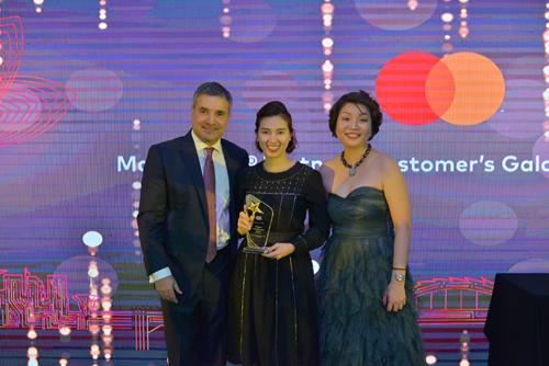 SCB đạt 3 giải thưởng của Mastercard và Visa.