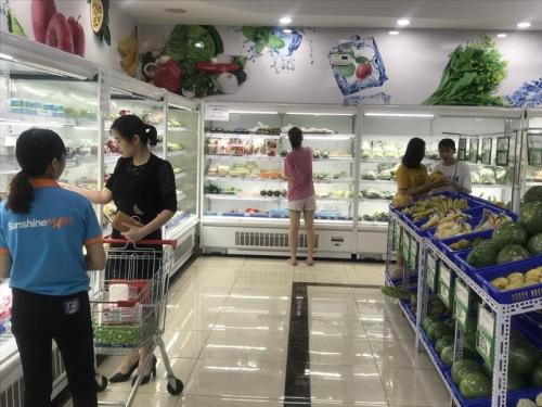Sau một năm hoạt động, Sunshine Mart trở thành địa chỉ mua sắm thường xuyên của cư dân Palace và người dân khu vực quận Hoàng Mai.