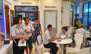 Eurowindow lần đầu giới thiệu cửa nhựa ốp nhôm tại Vietbuild Đà Nẵng 2019