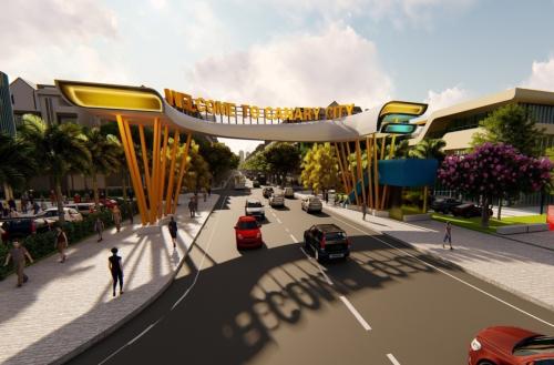 Phối cảnh dự án Canary City Thái Nguyên