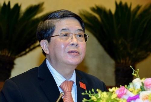 Ông Nguyễn Đức Hải - Chủ nhiệm Uỷ ban Tài chính ngân sách. Ảnh: Cổng thông tin Quốc hội