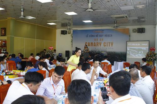 Lễ công bố quy hoạch dự án Canary City.