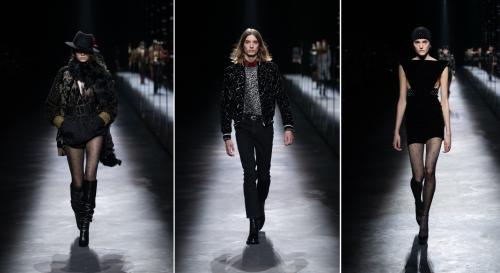Thời trang xa xỉ Saint Laurent thu  498 triệu ruro trong quý một - 2