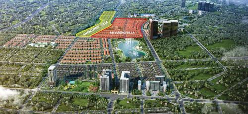 Tiểu khu An Vượng Villa và An Phú Shop-villa trong tổng khu đô thị Dương Nội.
