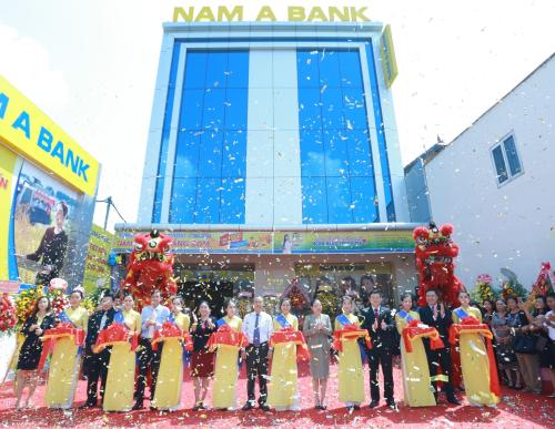 Lễ khai trương Nam A Bank Trảng Bom diễn ra ngày 15/5 vừa qua.