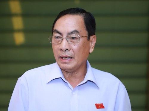 Ông Phạm Văn Hoà- Uỷ viên Uỷ ban Pháp luật, Phó đoàn đại biểu Quốc hội tỉnh Đồng Tháp. Ảnh: Quang Phúc