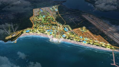 Dự án quy mô lớn liền kề sân bay quốc tế Cam Ranh